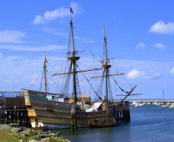 Replica of Mayflower